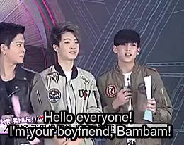 Watch and share Got7 Yugyeom GIFs and Got7 Bambam GIFs on Gfycat