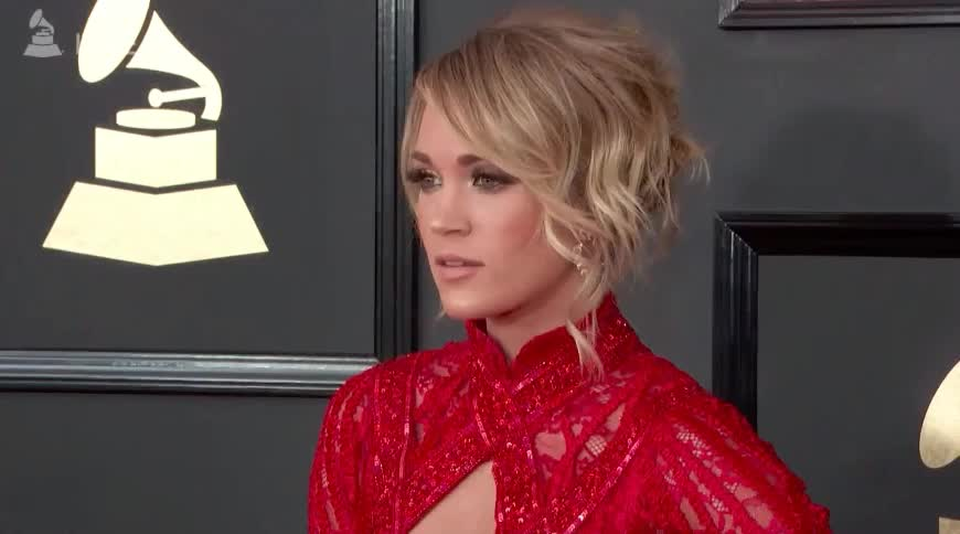 Grammys, grammys, red carpet, Carrie Underwood Red Carpet GIFs