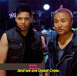 I AM SO EXCITED MY BOYS ARE ON MY TV AGAIN, ITS BEEN SO LONG, LIKE 7 YEARS???, abdc8, america's best dance crew, d-trix, hok konishi, mine, mygifs, please someone be excited about abdc again these boys are actually my favorites, quest crew, the last one looks wonky huh, wicked GIFs