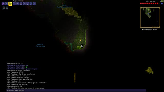 Watch and share Terraria GIFs and Death GIFs by THE CHAMP on Gfycat