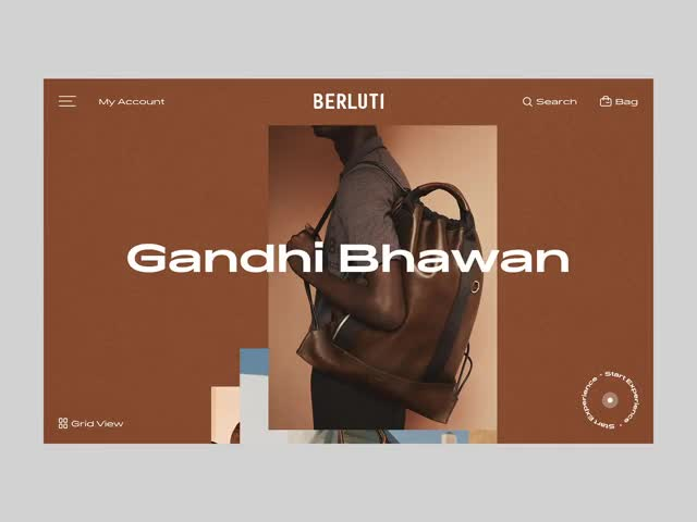 Watch and share Berluti Editorial Landing Page GIFs on Gfycat