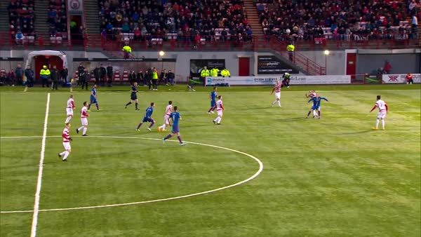 soccergifs, Nick Ross finishes off nice Inverness move against Hamilton Accies (reddit) GIFs