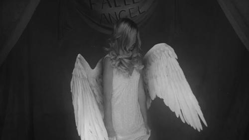 ahs, alternative, american horror story, american horror story fanmade, americanhorrorstory, angel, beautiful, beauty, black and white, dark angel, fanmadfde, freak show, girl, girls, grunge, indie, pale, plume, punk, rock, sobrenatural, wing, wings, NEVERMIND GIFs