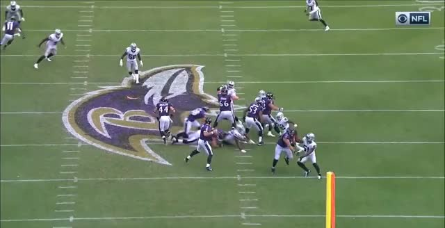 Last defensive play vs Ravens - replays