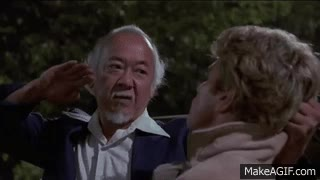 Watch and share The Karate Kid - Car Window Breaking Scene GIFs on Gfycat