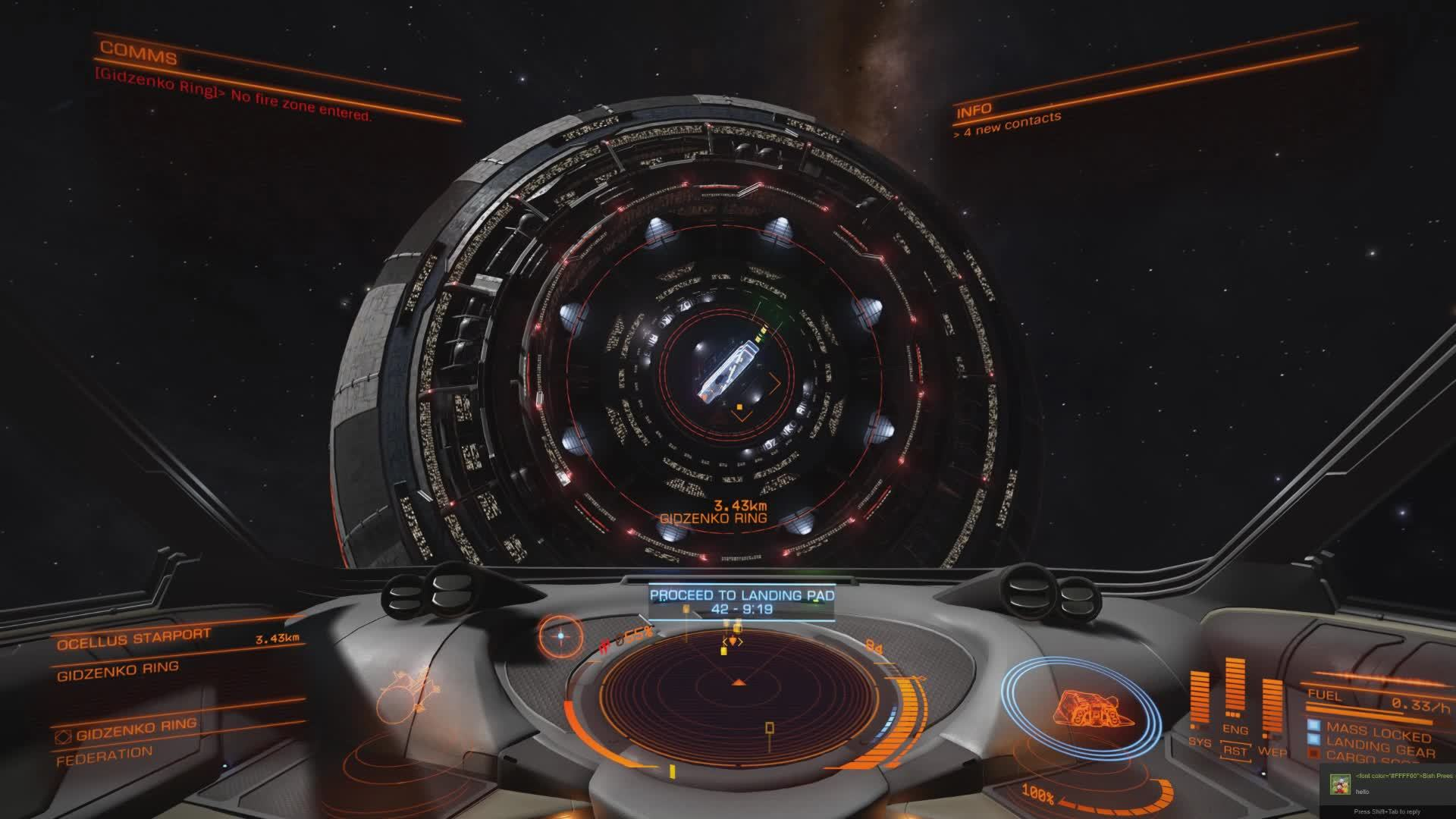 elitedangerous, Watch out for idiots near mail slots else this! (reddit) GIFs