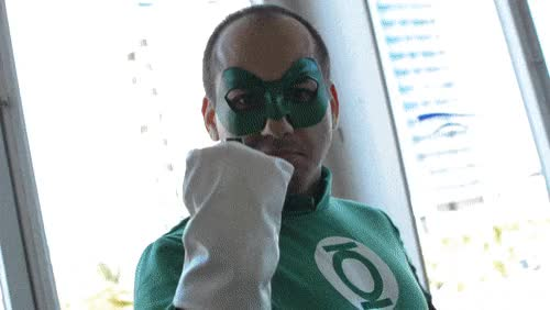 Watch and share Green Lantern GIFs and Cosplay GIFs on Gfycat