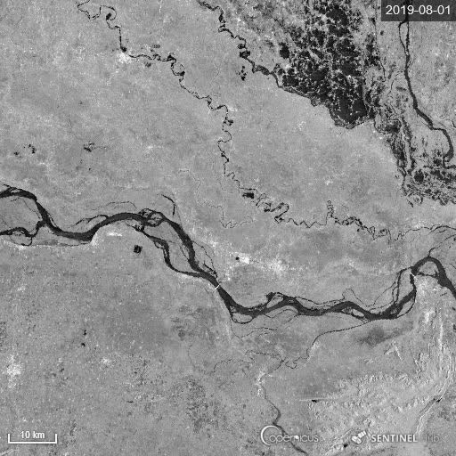 Watch and share Timelapse Of Sentinel-1 Radar Images Showing The Bihar Floods GIFs on Gfycat