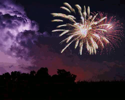 Watch and share Feux D'artifice: Le Bouquet Final GIFs on Gfycat