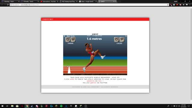 Watch and share QWOP GIFs by itsalamb on Gfycat