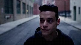 Watch this mr robot GIF by Reaction GIFs (@sypher0115) on Gfycat. Discover more mr robot, rami malek, series, show GIFs on Gfycat