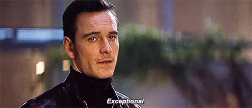 Watch and share Michael Fassbender GIFs and X Men First Class GIFs on Gfycat