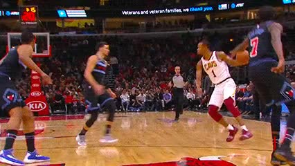 Watch and share Rodney Hood — Cleveland Cavaliers GIFs by Off-Hand on Gfycat