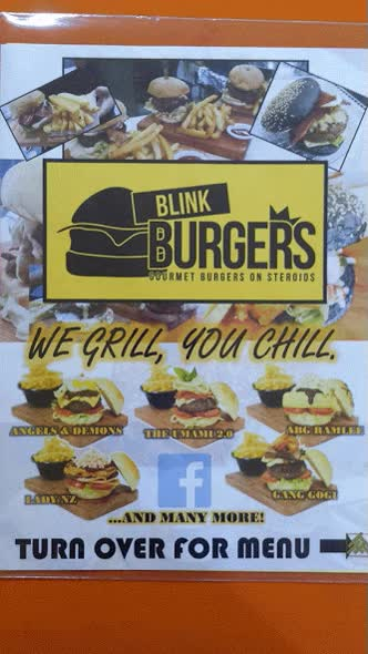 Watch and share The Blink Burgers Menu consists Of  5 Signature Burgers - Angels & Demons, ABG Ramlee, Gang Gogi, The Umami 2.0, Lady NZ.  GIFs on Gfycat