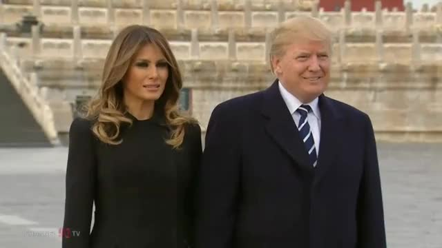 Watch and share Melania Trump GIFs and Donald Trump GIFs on Gfycat