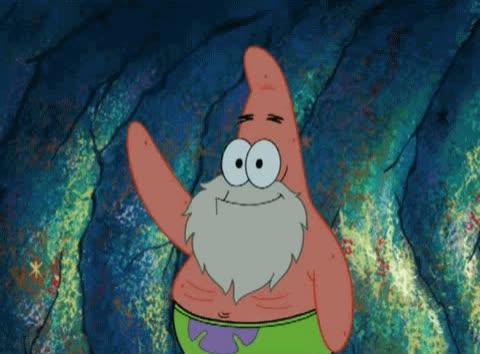 adios, bye, farewell, goodbye, hello, hey, hi, hola, patrick, spongebob, Hello Patrick GIFs