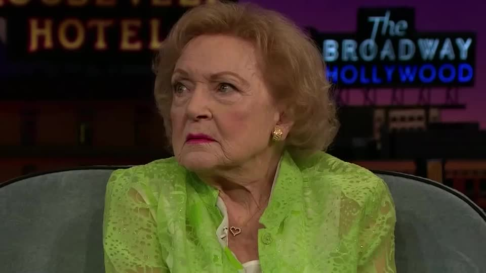 Betty White Shows Off Her Poker Face GIFs