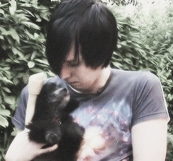 Dan and Phil, amazingphil, aww, cant handle this, cutie, dog, ffs, he needs a dog, little paws, phan, phil lester, they need a dog, too much, Aww GIFs