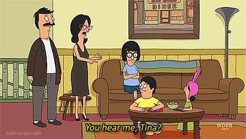 Watch and share Tina Bobs Burgers GIFs on Gfycat