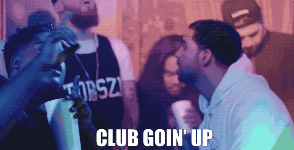 club, dance, day, degrassi, drake, excited, ft, going, happy, have, ilovemakonnen, it's, music, on, only, party, taco, tuesday, up, week, ILOVEMAKONNEN FT DRAKE - TUESDAY GIFs