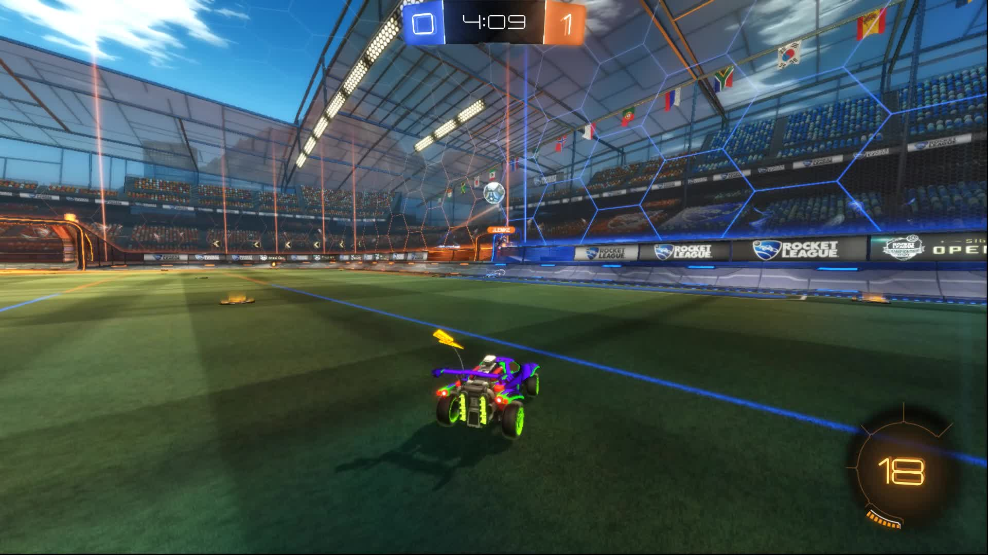 Sick redirect, or sick steal? GIFs