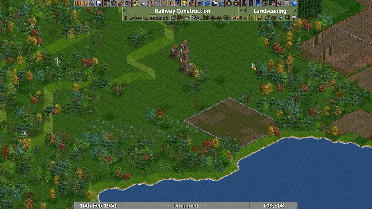 Gaming, OpenTTD, Railplanner Demo GIFs
