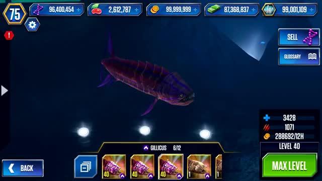Watch Jurassic World The Game: Gillicus GIF on Gfycat. Discover more Carnivore, ExtinctAnimal, ExtinctAnimals, Gillicus, JurassicPark, PrehistoricAnimals, PrehistoricLife, animal, aquatic, chordata, fauna, fish, games, gaming, gif, ios, jurassicworldthegame, ludia, mobilegame, underwater GIFs on Gfycat