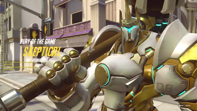 Watch and share Reinhardt GIFs by skeptical on Gfycat