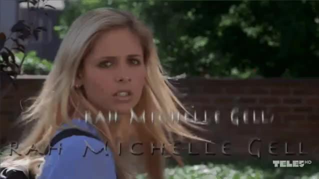 Watch Buffy The Vampire Slayer GIF on Gfycat. Discover more btvs #chosen #season4 #buffyisback, celebs, sarah michelle gellar GIFs on Gfycat