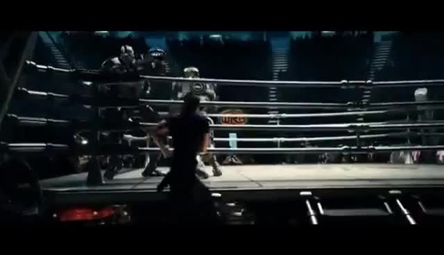 Watch and share Real Steel Atom- Remember The Name GIFs on Gfycat