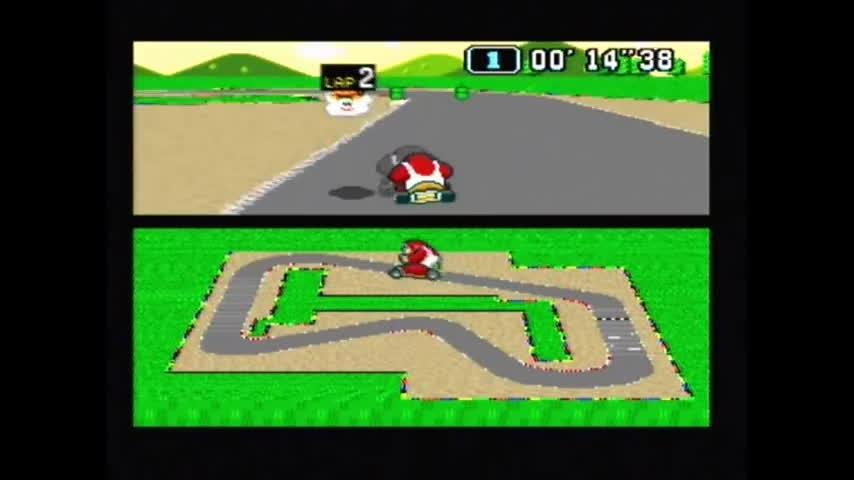 nonononoyes, Super Mario Kart Time Trial PAL Mario Circuit 1 World Record 0'57