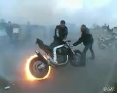 bike, burn out, burnout, motorcyle, burnout GIFs