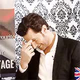 Watch and share Get To Know Me Meme GIFs and Richard Armitage GIFs on Gfycat