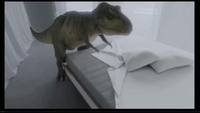 Watch Audi - The Comeback GIF on Gfycat. Discover more AUTO, CGI, Car, Dinosaur, Viral, audi, automotive, concept, dino, dinosaurier, documentary, driverless, fahrerlos, jurassic, rex, t-rex, trex GIFs on Gfycat