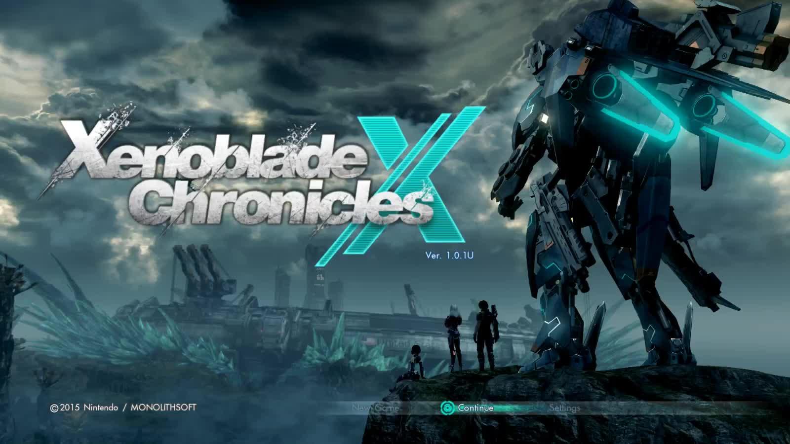 Cemu WiiU, Main Menu, Xenoblade Chronicles X, Xenoblade Chronicles X Main Menu GIFs