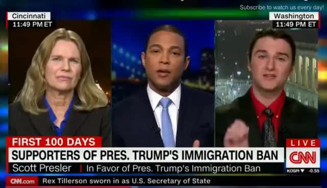 Watch and share Scott Presler Destroys Don Lemon Gays Are Killed Children Raped Kill Gay Trump Law GIFs on Gfycat