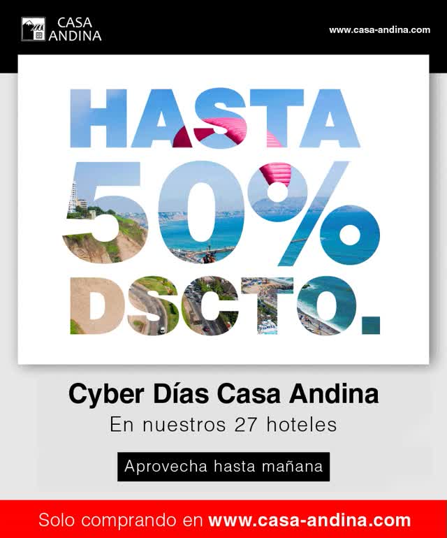 Watch casa-andina-cyber-dias-hasta-manana-2016.gif GIF on Gfycat. Discover more related GIFs on Gfycat