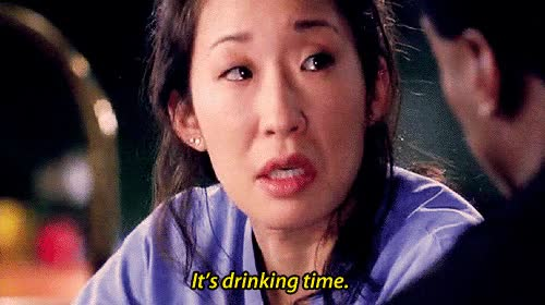 Watch and share Sandra Oh GIFs and Drinking GIFs on Gfycat
