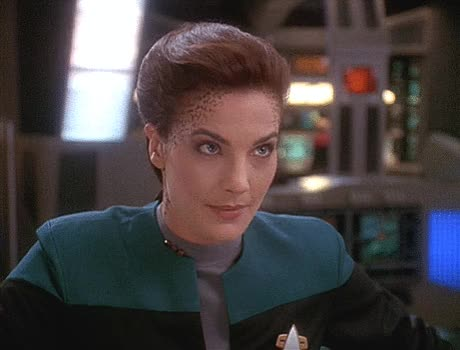 Watch and share Deep Space Nine GIFs and Terry Farrell GIFs by Star Trek gifs on Gfycat