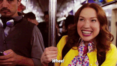 ellie kemper, squee, unbreakable kimmy schmidt, woohoo, 3 QUESTIONS YOU ARE GUARANTEED TO GET ASKED WHEN YOU MOVE ABROAD.... GIFs