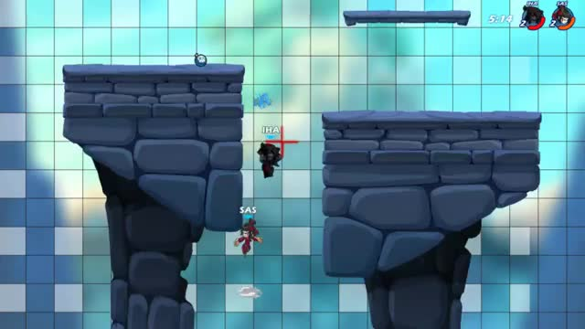 Watch and share Weapon Throw GIFs and Brawlhalla GIFs by alex on Gfycat