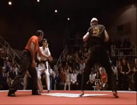 Watch and share Karate Kid GIFs and Battle GIFs on Gfycat