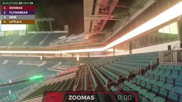 Watch Drone Racing League | Heat 3: Qualifying Race (L1, E1) | DRL GIF on Gfycat. Discover more drone racing league, drones, nine GIFs on Gfycat