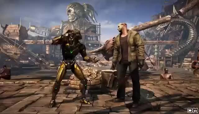 Watch and share Mortal Kombat XL All X-Rays (No Hud) GIFs on Gfycat