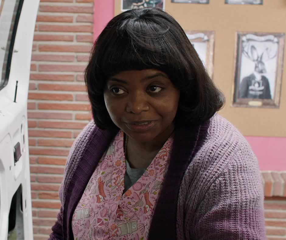 flirt, ma, ma movie, octavia spencer, wink, MA Wink Octavia Spencer GIFs