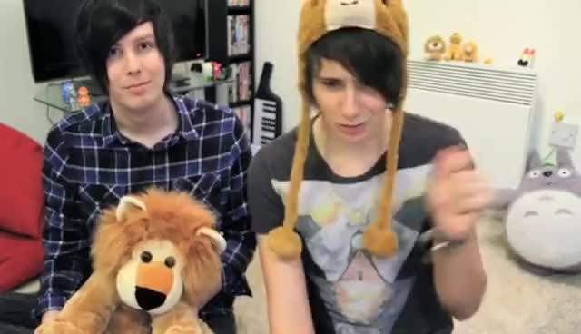Watch and share Amazingphil GIFs and Dan Howell GIFs on Gfycat