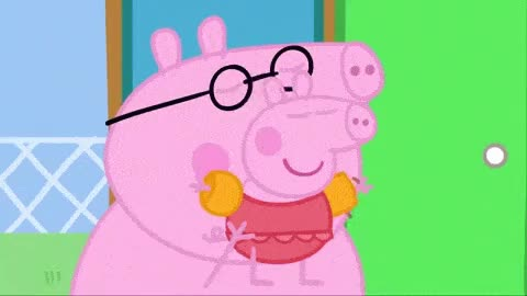 Watch and share Peppa Pig: Swimming GIFs on Gfycat