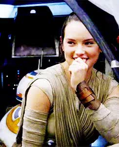 Watch If you werent crushing on her already.. GIF on Gfycat. Discover more starwars GIFs on Gfycat
