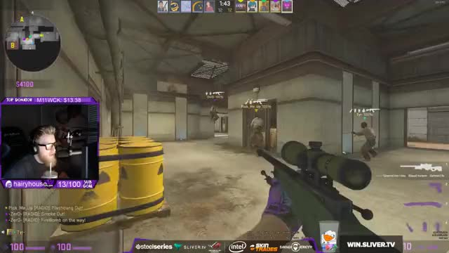Watch and share Fl0m Playing Counter-Strike: Global Offensive - Twitch Clips GIFs on Gfycat