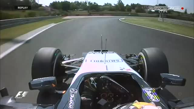 Watch Hungary FP1 Perez Crash - Onboard GIF by @schambess on Gfycat. Discover more formula1 GIFs on Gfycat